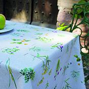 Mantel confeccionado Aitana Renoir 140X140 cm