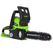 Motosierra Greenworks 24 V G24CS25
