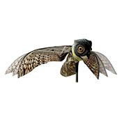 Búho eólico Orework espantapájaros efecto vuelo