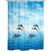 Cortina ducha Wenko delfines