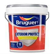Pintura Bruguer revestimiento protector exterior Liso extra blanco 4 L