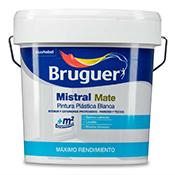 Pintura  Bruguer Mistral blanco 4 L