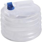 BIDON PLASTICO PLEGABLE PORTATIL CON GRIFO 10 L
