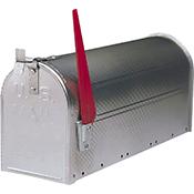 Buzón exterior americano aluminio E 2101 48 cm