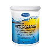 Recuperador - Cloro grano triple acción piscina 1 kg