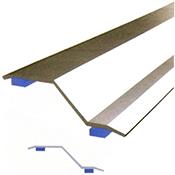Pletina Dicar adhesiva 2 alturas 40 mm x 83 cm roble