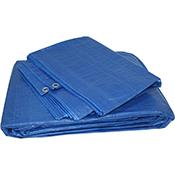 Toldo de proteccion Orework azul 6x10 m