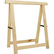 Caballete madera 73,5x76 cm