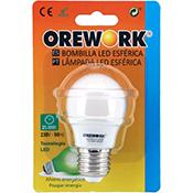 Bombilla led Orework E27 6 W luz cálida 480 lúmenes