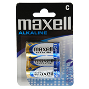 MAXELL PILA ALCALINA LR 14 Blister 2p
