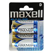 MAXELL PILA ALCALINA LR 20 Blister 2p