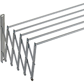 Tendedero Sauvic extensible aluminio 140 cm
