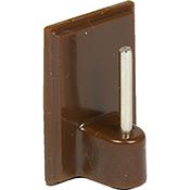 Soporte visillos Inofix 2042 4 marrón blister 4 uds