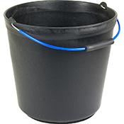 Cubo Plasvidavi plástico 17 L negro