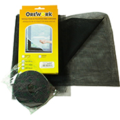 Mosquitera Orework negra 150x180 cm