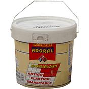 Tela asfáltica Adoral fibra antimoho 750 ml negra