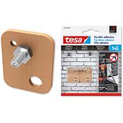 Tornillo adhesivo Tesa rectangular 5 kg pack 2 uds