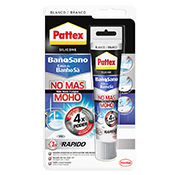 Siliicona baño Pattex No Mas Moho 50 ml blanco