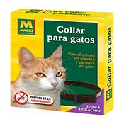Collar gato antiparasitos Masso