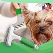 Cepillo para mascotas Wahl Undercoat Rake