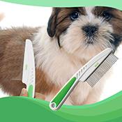 Peine para mascotas Wahl Detangling Comb desenredador