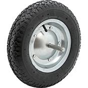 Disco con tornillos rueda carretilla
