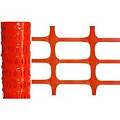 Malla plástica barrera / señalización 50 m 100 cm 150 g/m²