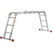 Escalera Orework Multi aluminio 4x3 CE