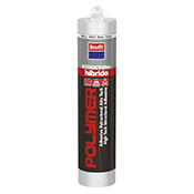 Adhesivo Krafft Polymer H200 estructural blanco 290 ml