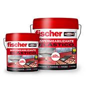 Impermeabilizante elástico MS Fischer 1 kg Blanco