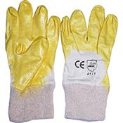 Guante Orework nitrilo amarillo T 7