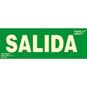 SEÑAL SALIDA 10,5x30 cm