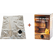 Caja vino OREWORK premium + bolsa 15 L