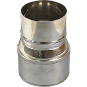 Reducción de tubo de chimenea de Bofill de 140-120 mm
