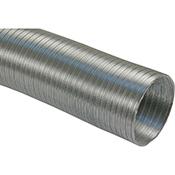 Tubo salida de humos de alumínio extensible de 120 x 5 m