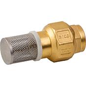 Válvula retención Arco + filtro 3/4 H