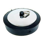 Tapón goma de fregadero de 61 mm