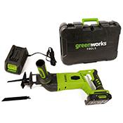 Sierra sable box 24 V Greenworks G24RS