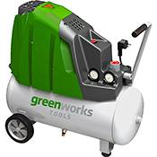 Compresor Greenworks GAC24L 230 V