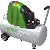Compresor Greenworks GAC50L 230 V