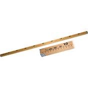 Regla madera 1 mt 25x20 mm 22071