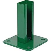 Base acero poste Hercules verde Moreda
