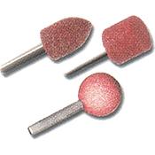 Muela abrasiva TIVOLY Ø 6 mm 3 uds