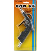 Pistola neumática de soplado OREWORK conexión rápida