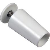 Tope persiana Perklas plástico blanco 40 mm
