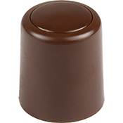 Tope puerta Inofix 3040 4 marrón