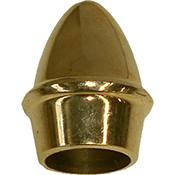 Remate piña Perficort latonado Ø 16 mm